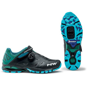 Northwave Spider Plus 2 Shoes Men, black/blue